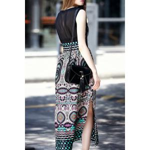 Sleeveless Bohemian Dress -