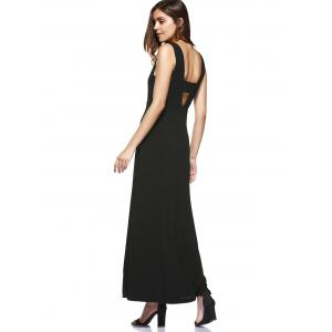 Hollow Out High Waist Maxi Beach Dress -