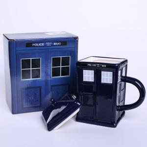 Cool House Design Handled Docto Who Tardis Coffee Tea Cup -