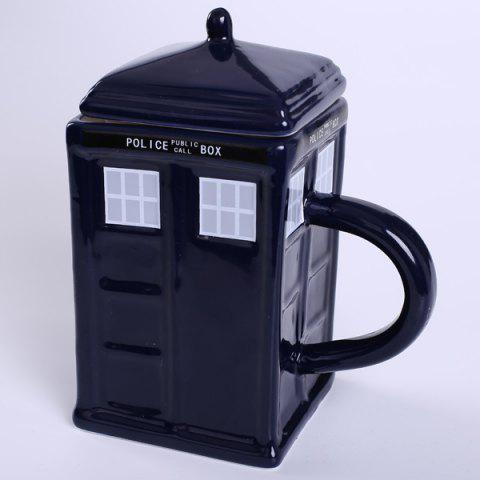 Hot Cool House Design Handled Docto Who Tardis Coffee Tea Cup