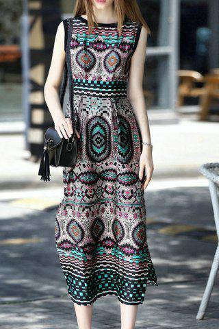 Hot Sleeveless Bohemian Dress