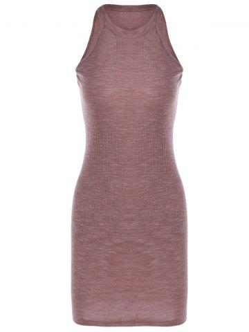 Outfits Fashionable Tight Pure Color Dress For Women