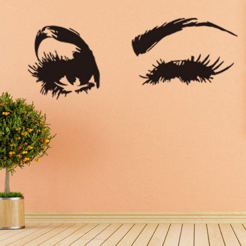 Black Girl\'s Eyes Design Abstract Decals Wall Art Sticker | RoseGal.com