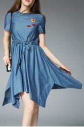 Denim Handkerchief Dress -