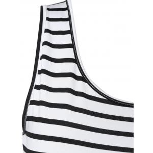 Striped Trim Summer Dress -