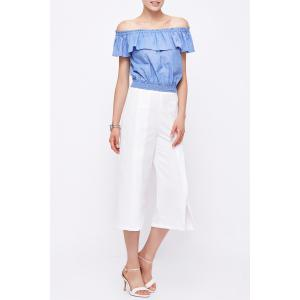 Off The Shoulder Ruffled Blouse -