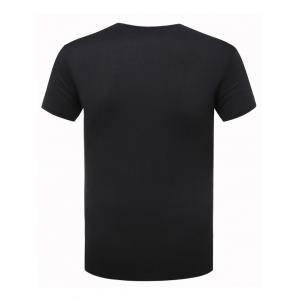 Funny Icon Pattern Printing Round Neck Short Sleeves T-Shirt For Men -