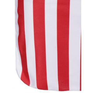 American Flag Bandeau Cover Up -