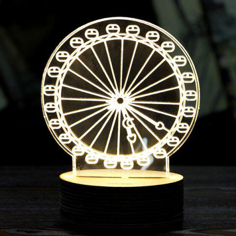 Trendy Creative Home Decoration Ferris Wheel Shape LED Night Light