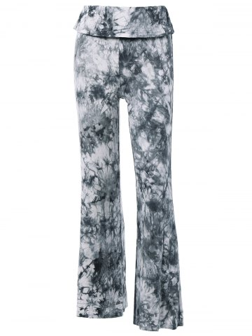 Fashion Fashionable High Waist Tie Dye Loose-Fitting Pants