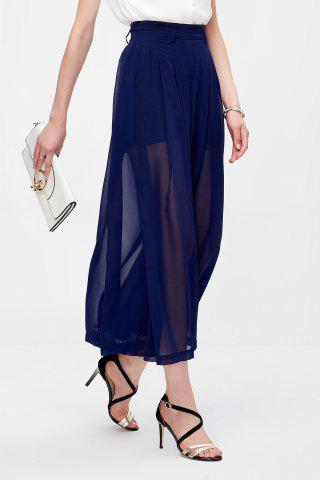 Store Pleated Culotte Pants