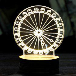 Creative Home Decoration Ferris Wheel Shape LED Night Light -