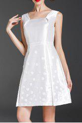 Sequined Flare Dress -