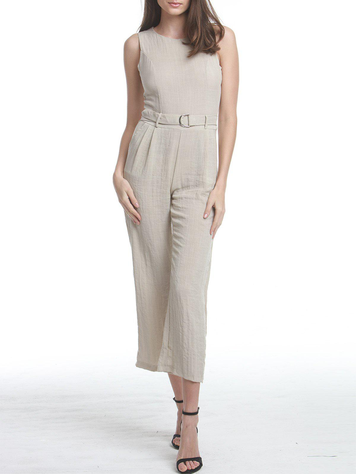New Premium Texture Jumpsuit with D-Ring Detail