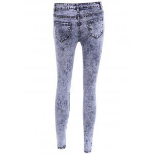 Stylish High-Waisted Skinny Ripped Women's Jeans -