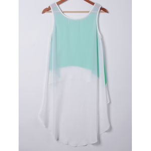 Casual Loose-Fitting Round Neck Sleeveless Top For Women -