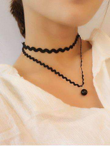 Hot Layered Wave Chokers Necklace