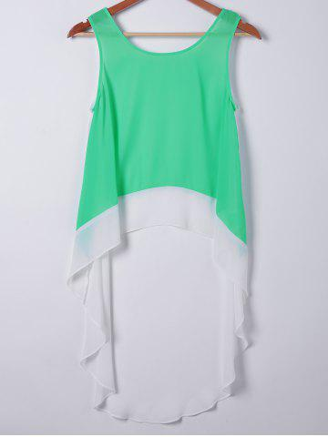 Affordable Casual Loose-Fitting Round Neck Sleeveless Top For Women