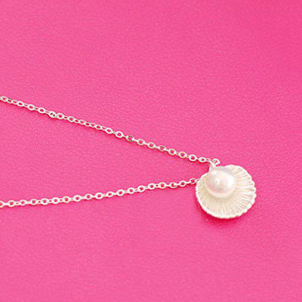 Best Fake Pearl Shell Pendant Necklace