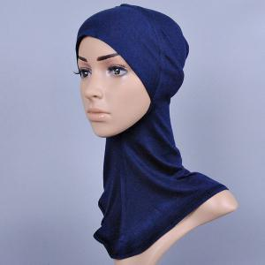 Concise Various Color Hijab Islamic Neck Cover Head Wear Cap Scarf For Women