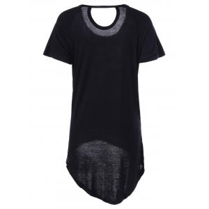 Casual Camouflage ScoopNeck Short Sleeves Top For Women -
