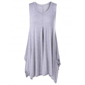 Casual Short Sleeves Cardigan+Scoop Neck Tank Dress Twinset For Women -