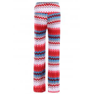 Ethnic Style Women's Zig Zag Loose-Fitting Exumas Pants -