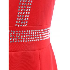 Backless Sweetheart Neckline Bodycon Party Dress -