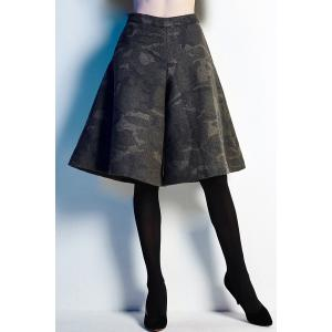 Camouflage Fifth Culotte Shorts
