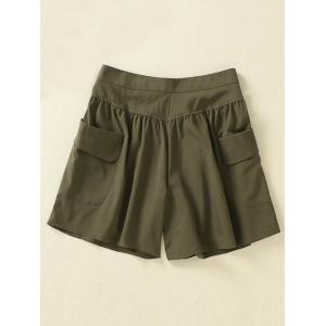 Plus Size Running Shorts with Pockets -