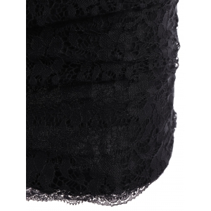 Sexy Strapless Lace Slimming Dress For Women -