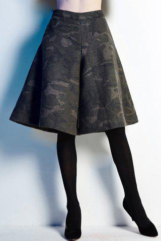 Chic Camouflage Fifth Culotte Shorts