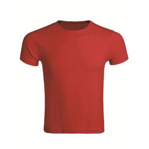 Cotton Blends Round Neck Short Sleeve T-Shirt For Men