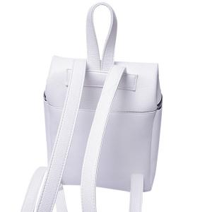 Fashion PU Leather and Zip Design Satchel For Women -