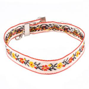 Ethnic Embroidered Floral Choker -