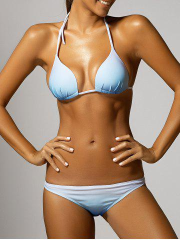 Fancy Halter Gradient Bikini COLORMIX XL