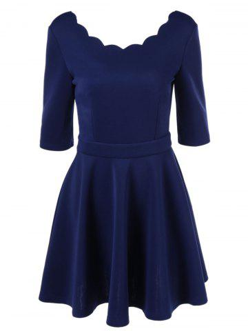 Cheap Elegant Tight Pure Color Dress For Women