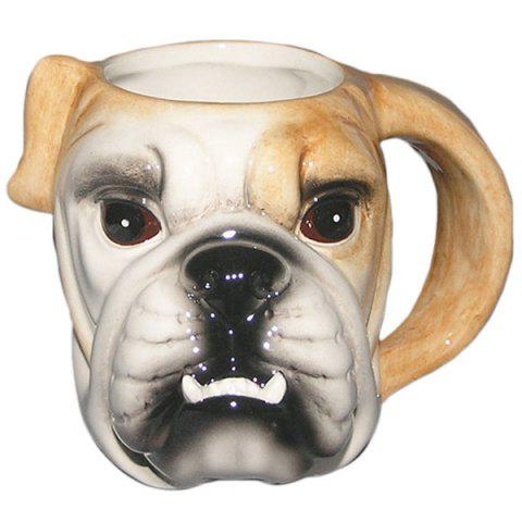 Shops Fashionable Drinkware 3D Puppy Pattern Ceram Mug
