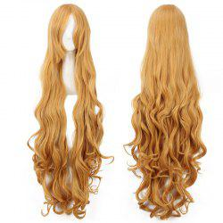 Charming Yellow Extra Long Synthetic Fluffy Wave Aisaka Taiga Cosplay Wig -