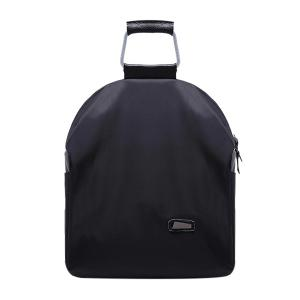 Leisure Zipper and Black Design Backpack For Women