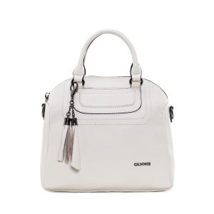 Tassel Tote Bag - Off-white