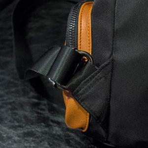 Trendy Black Colour and Splicing Design Backpack For Women - BLACK