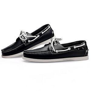 Stylish Tie Up and Stitching Design Casual Shoes For Men -