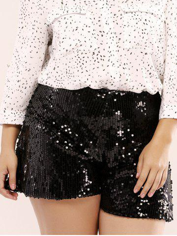 New Fashionable Plus Size Sequined Wide Leg Culotte