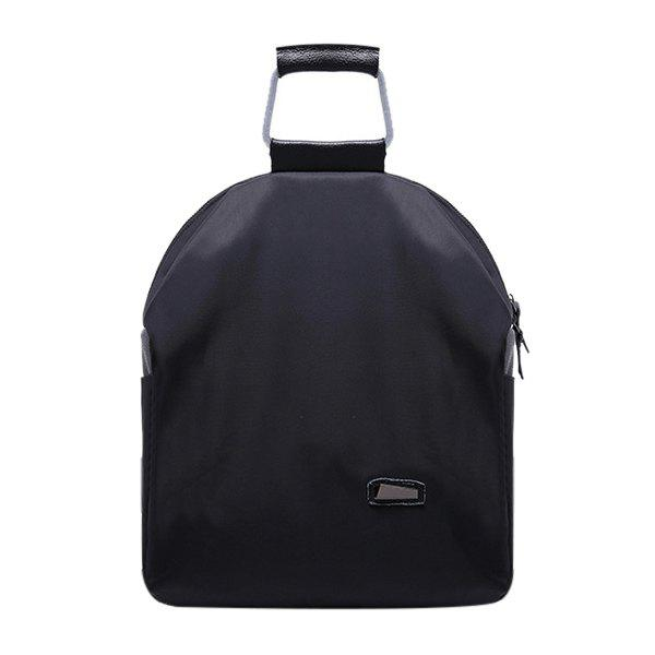 Affordable Leisure Zipper and Black Design Backpack For Women