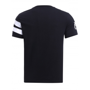 BoyNewYork Color Block Stripes T-Shirt -