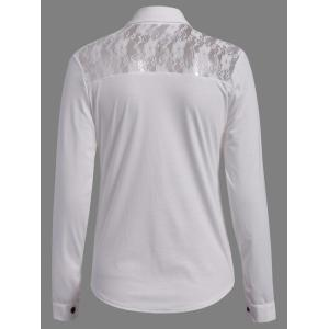 Casual Shirt Collar manches longues single-breasted Minceur Femmes  's Shirt -