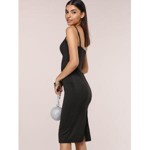 Stylish Women's Solid Color Bodycon Cami Dress -