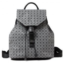 Trendy Drawstring and Checked Design Satchel For Women - LIGHT GRAY
