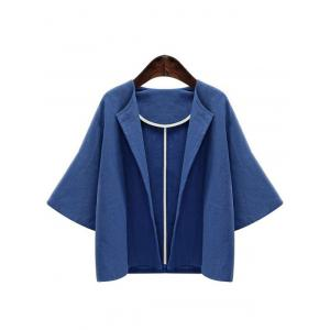 Bell Sleeve Open Front Jacket